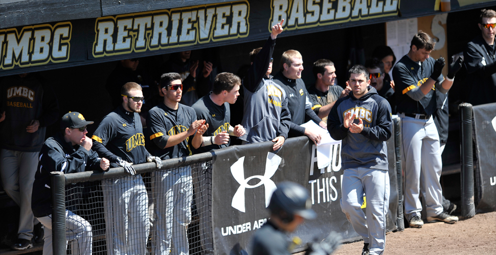 UMBC Sweeps Albany, Clinches Playoff Spot With 6-5 Win On Sunday