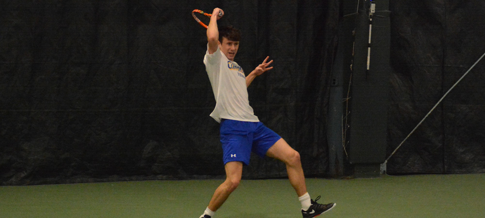 Strong Singles Play Leads Men's Tennis To 4-2 Victory Against Findlay