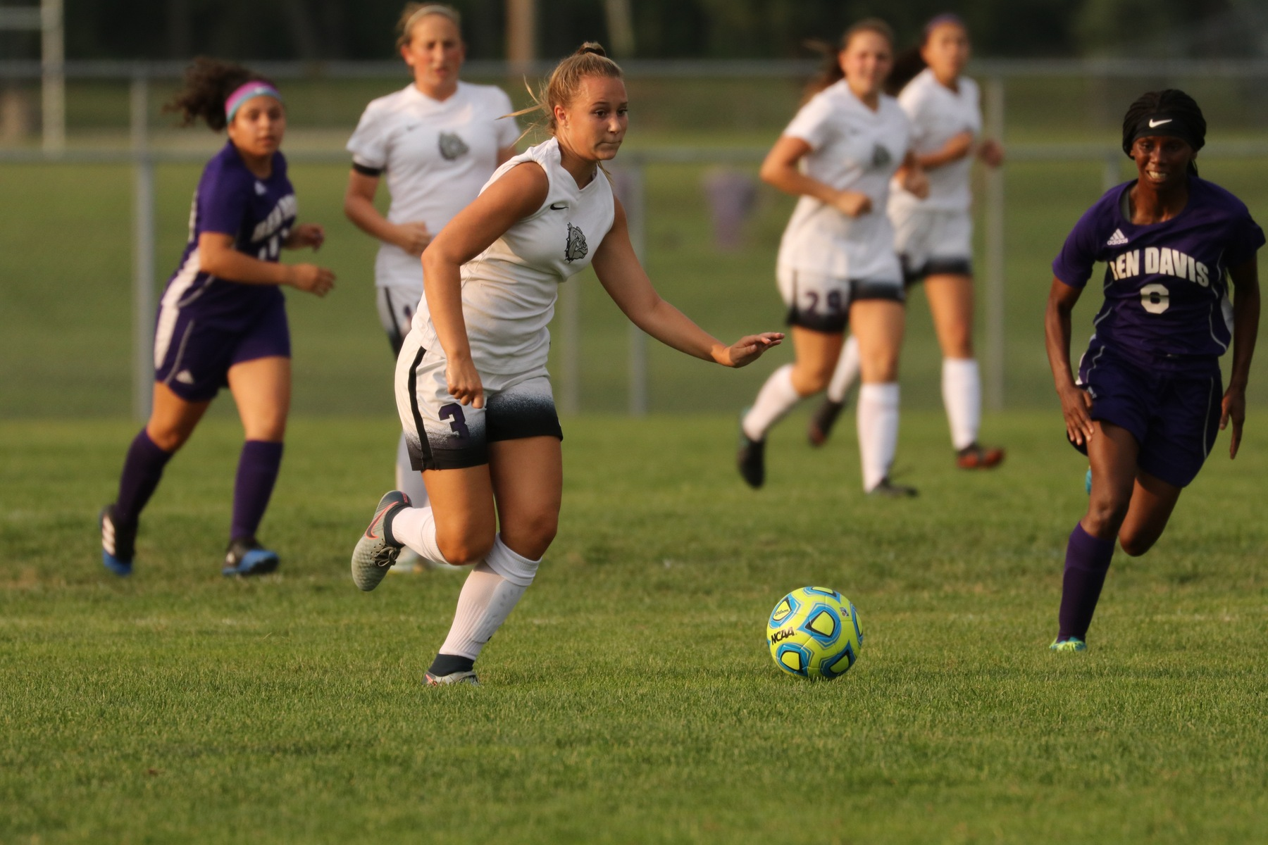 Girls' Soccer Ties Fishers