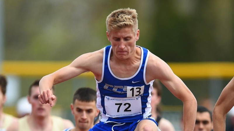 Raymond, Trainor Lead Off IC4A Championships Friday