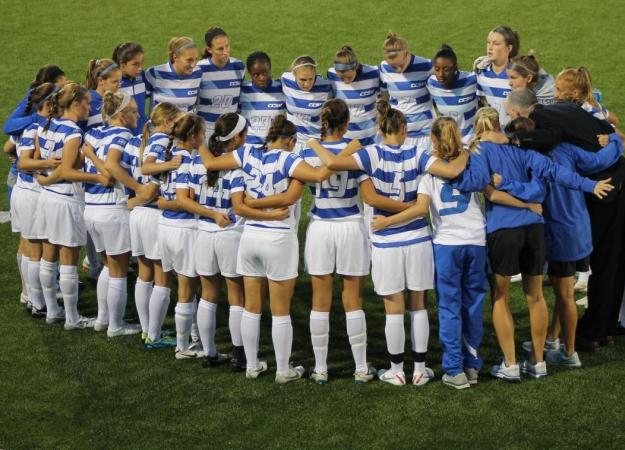 Women's Soccer Earns NSCAA Award