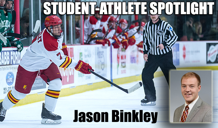 STUDENT-ATHLETE SPOTLIGHT: Hockey's Jason Binkley