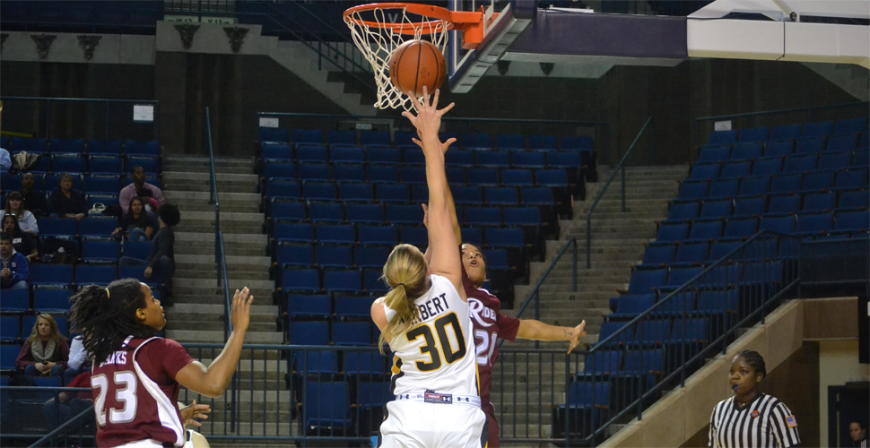 Turnovers and Foul Trouble Dooms Women's Basketball Against Rider, 60-48
