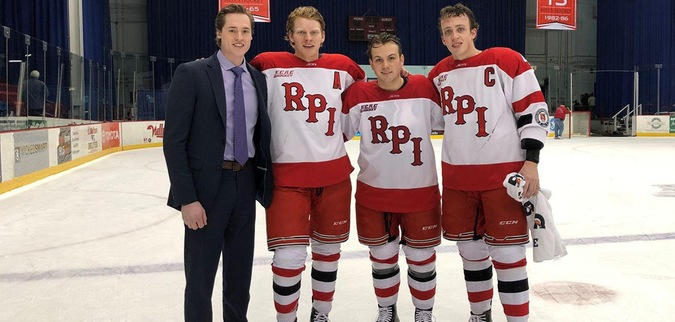 Senior day spoiled as RPI falls to Dartmouth