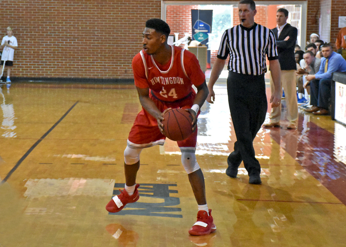 Kyante Pines had 16 points and nine rebounds in Friday night's 73-72 loss to Covenant.