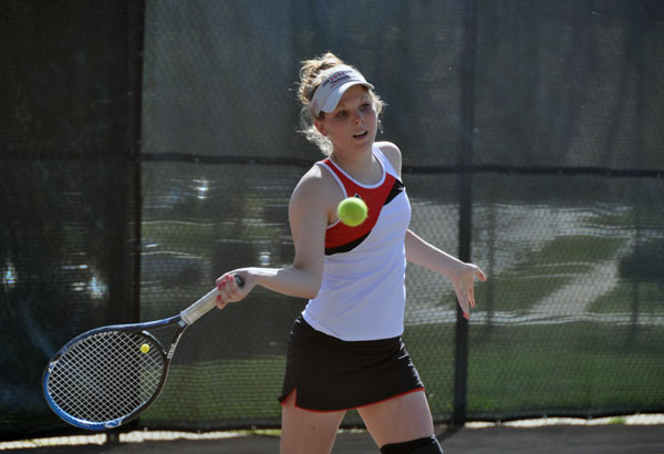 Women's Tennis: Brashier selected as GSAC Singles Player of the Week