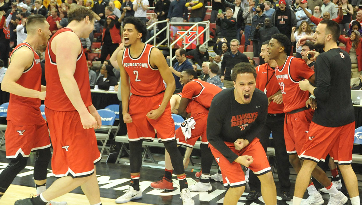 Youngstown State Men's Basketball (Photo by Chris Farina)