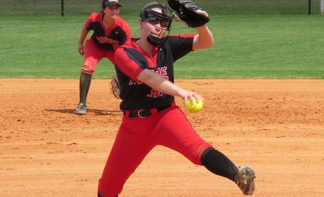 Pitching Sparks Softball Sweep at Carthage
