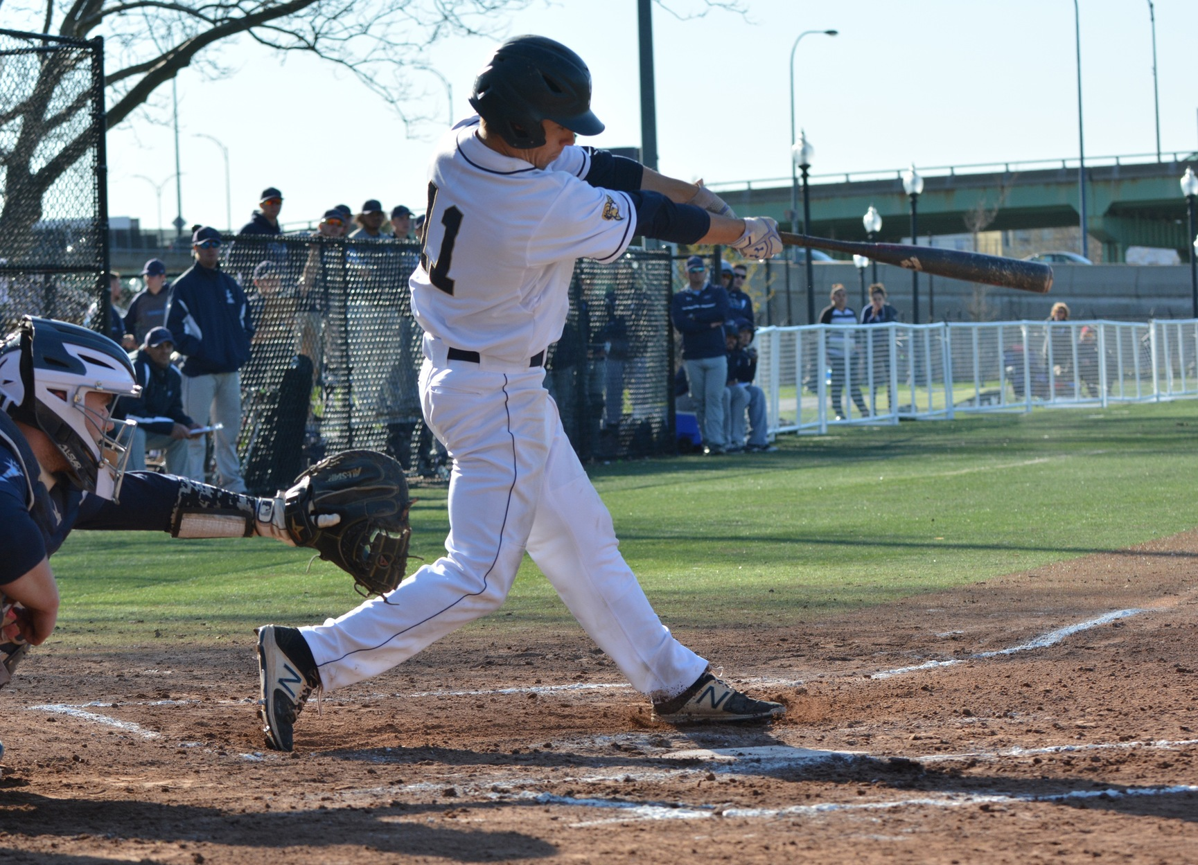 Cameron Does It Again, Baseball Walks Off With 4-3 Win over Lasell