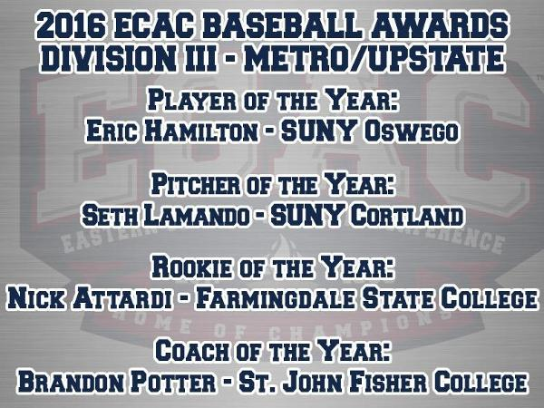 Attardi Named ECAC Metro/Upstate Rookie of the Year