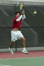 Men's Tennis Sweeps Gonzaga 7-0