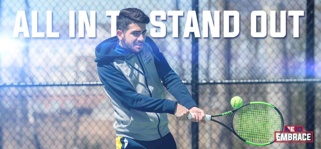 SNHU's Fernandes Repeats as Player of the Year as NE10 Announces Men's Tennis Awards