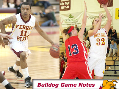 The Ferris State Basketball teams visit rival Grand Valley State on Monday (Jan. 11) evening