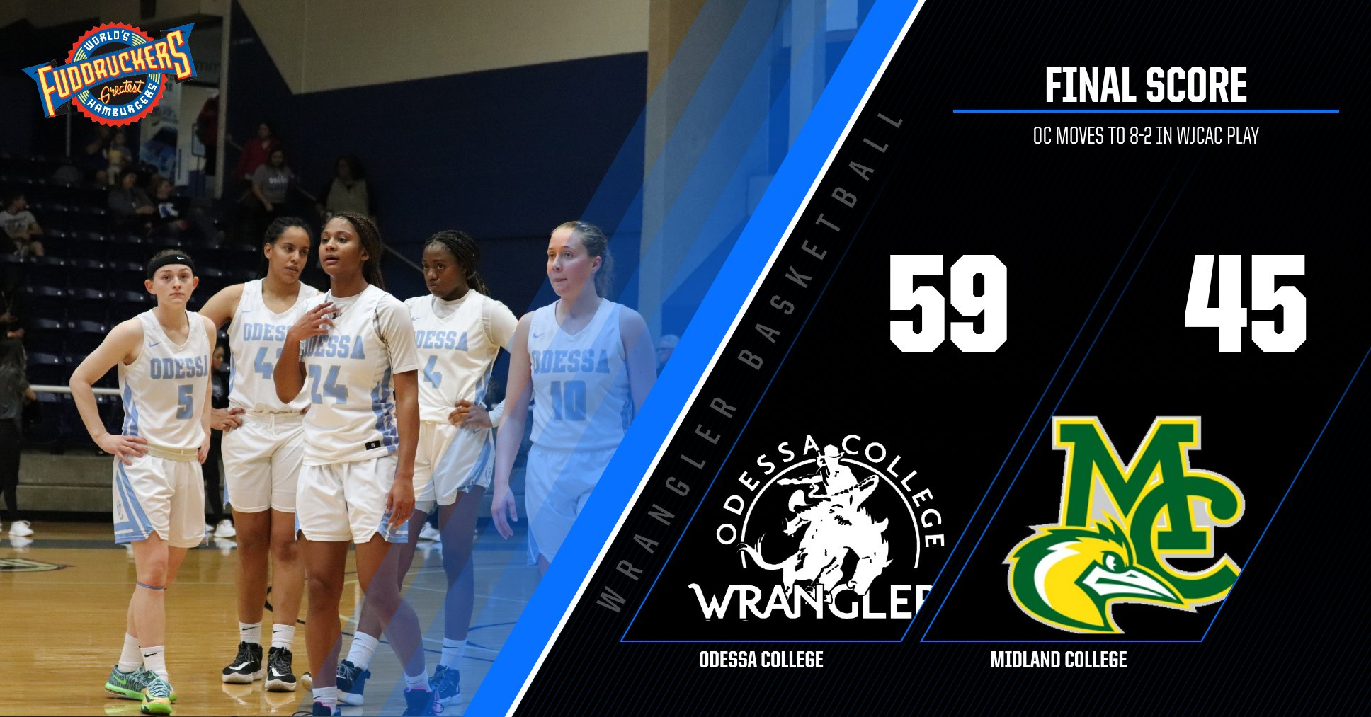 #17 Wrangler Women take down #18 Midland College 59-45