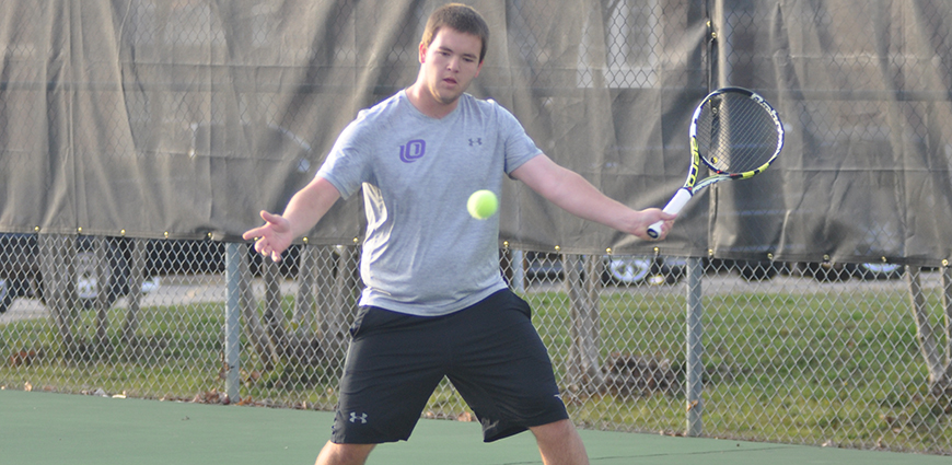 Men's Tennis Team Battles To A Spring Home-Opening Win