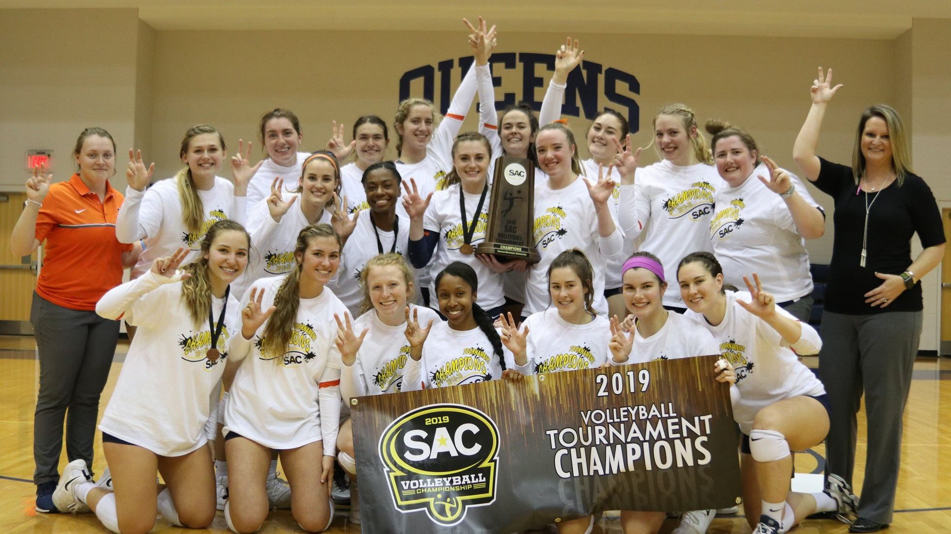 Eagles earn SAC Championship for third time in program history