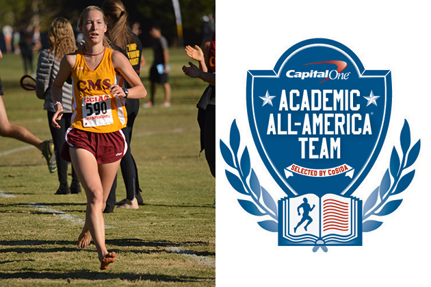 Eslinger selected to CoSIDA Academic All-District First Team
