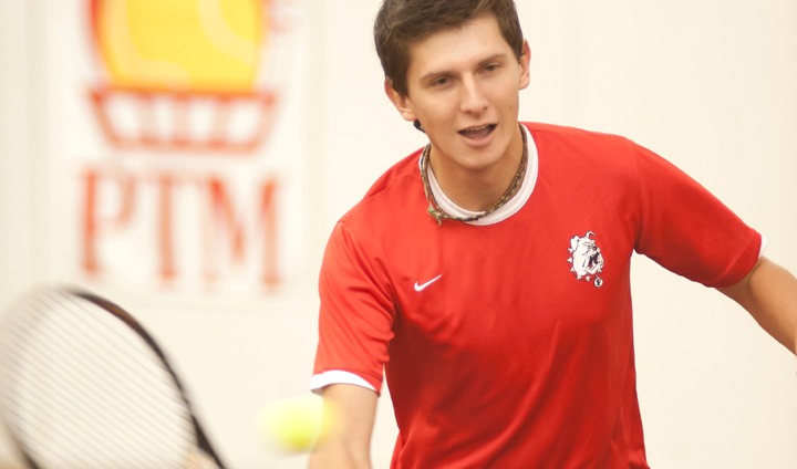 Ferris State's Sergiu Laza Picks Up GLIAC Men's Tennis Weekly Honor