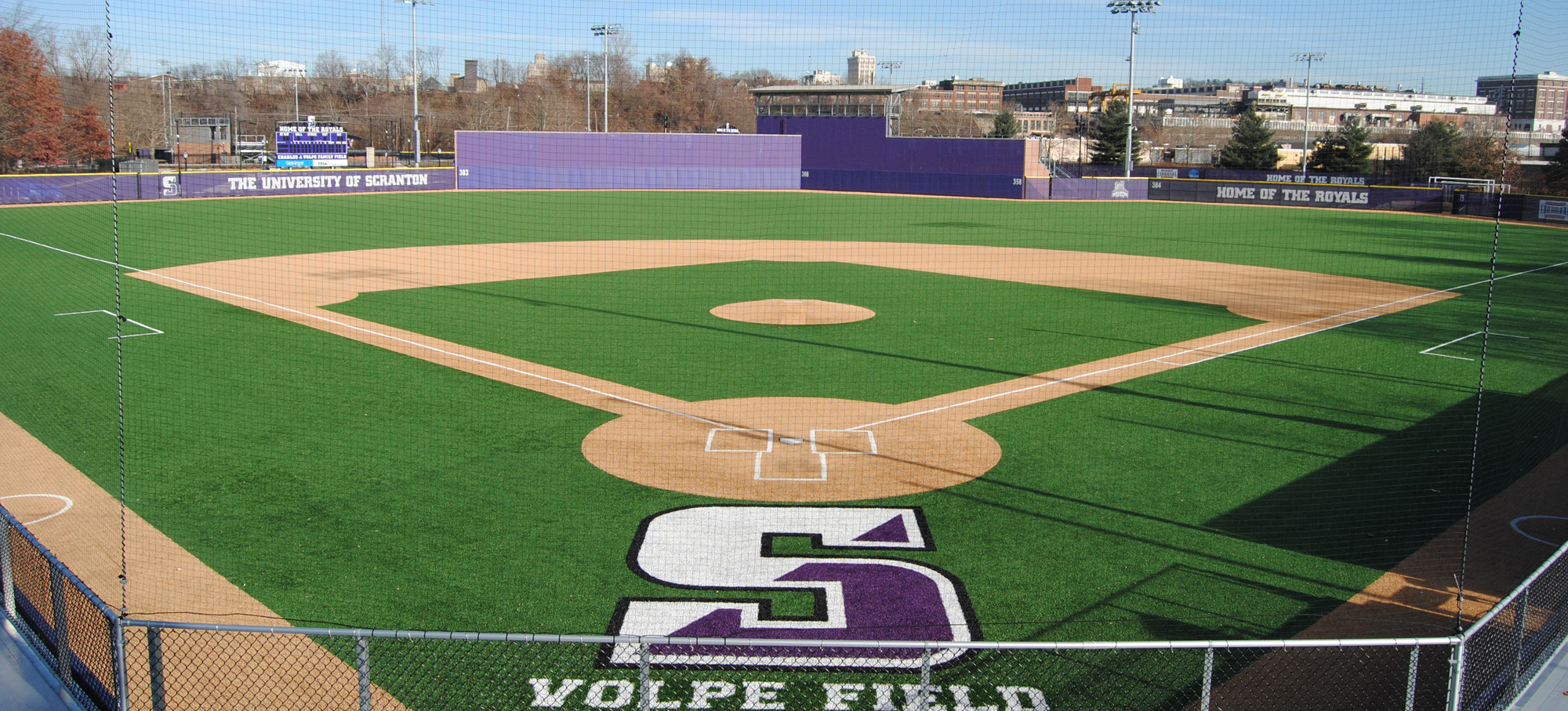 Scranton's Volpe Field will host the Landmark Conference baseball championships for the second year in a row this weekend.