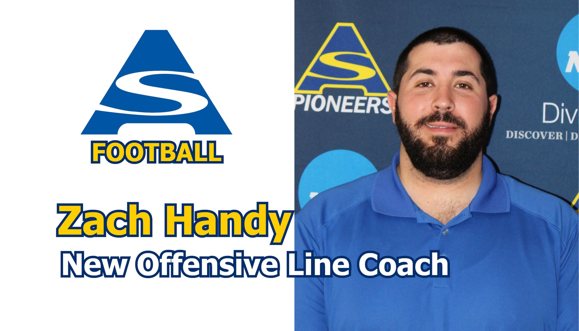 Zach Handy named new offensive line coach