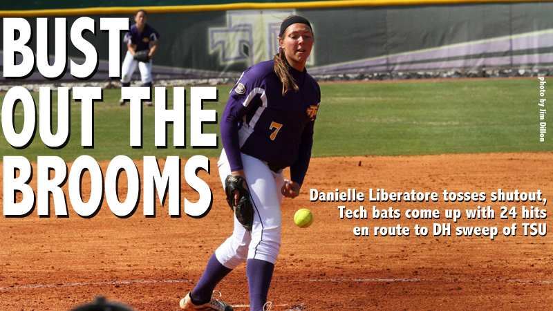 Golden Eagles control all facets of the game in doubleheader sweep over TSU