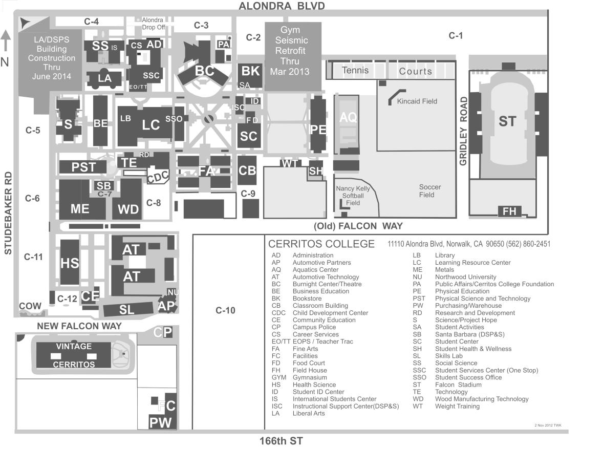 cerritos college campus map with Cerritos College Map on Studio Arts Building Bucknell University likewise Cal State Long Beach Map also Fresno City College C us Map in addition Falconcard in addition Academic Plan For Success.