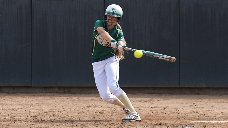 SOFTBALL GAINS DOUBLEHEADER SPLIT AT PORTLAND STATE