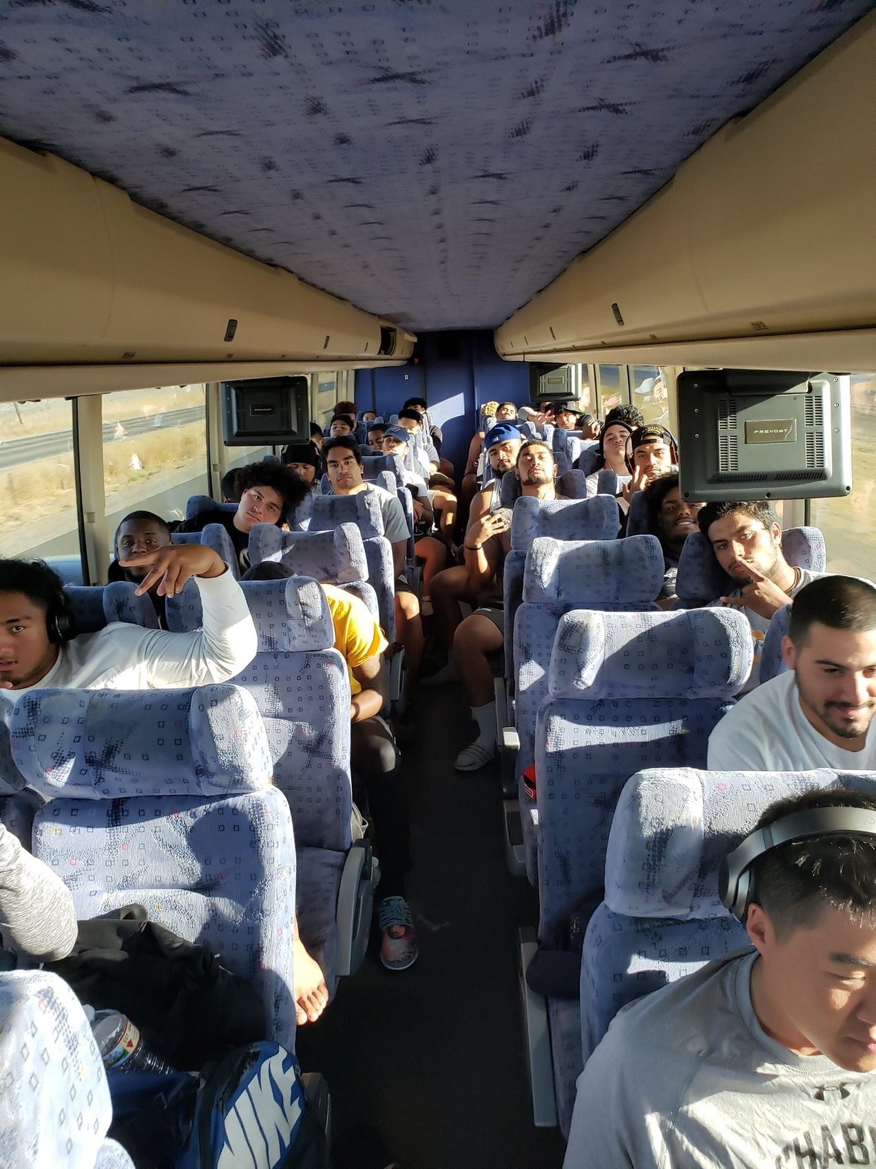 Chabot Football teams traveled to the College of Siskiyous, Sept 22, 2018