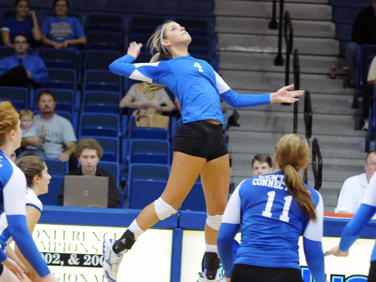 Olmstead and Bayer Guide Blue Devils to Conference Home Win