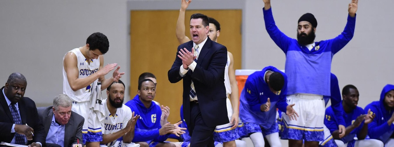 Goucher Men's Basketball To Participate In Coaches vs. Cancer Suits And Sneakers Week; Announce 3-Point Challenge For Coaches vs. Cancer