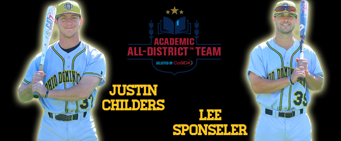 Childers, Sponseller Tabbed To Academic All-District Team