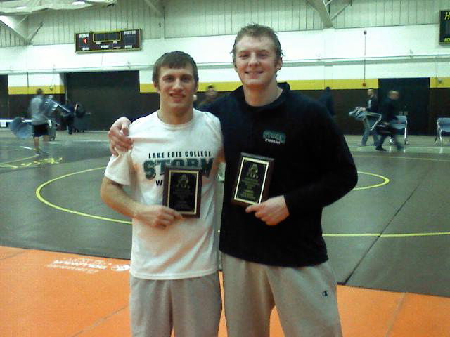 Nate Ball (157) and Josh Linden (184) won individual titles at the 26th John Suma Memorial Tournament.