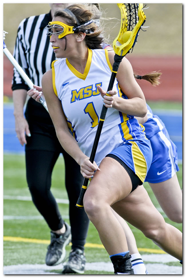 Mount women's lacrosse team posts first win of young season, 15-9 against Waynesburg University