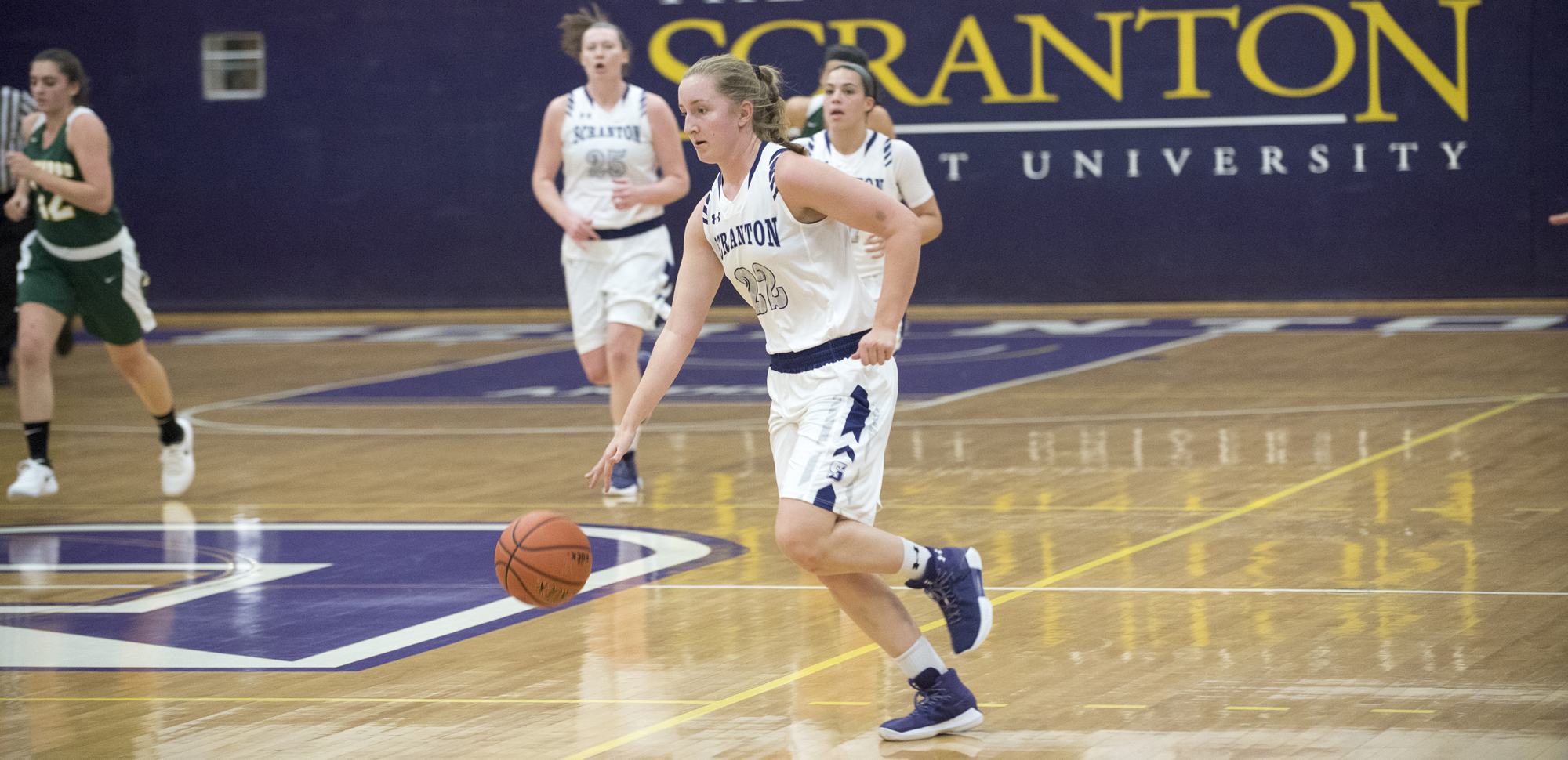 Makenzie Mason scored a career-high 24 points to earn All-Cross County Classic honors in Scranton's 69-47 win over Wilkes on Saturday.