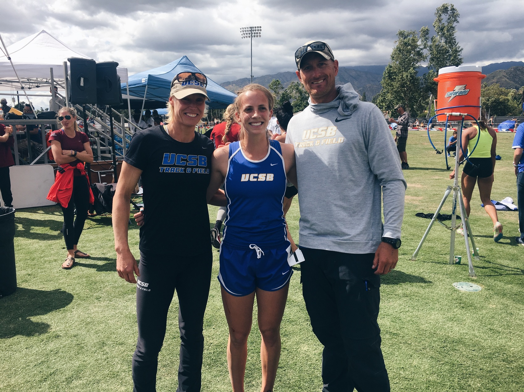 Action Packed Weekend for Gaucho Track and Field