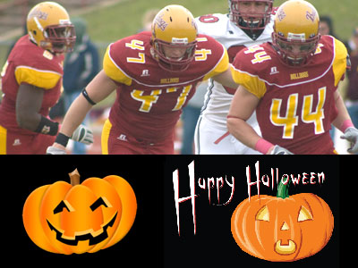 Halloween Football Contest Full Of Activities