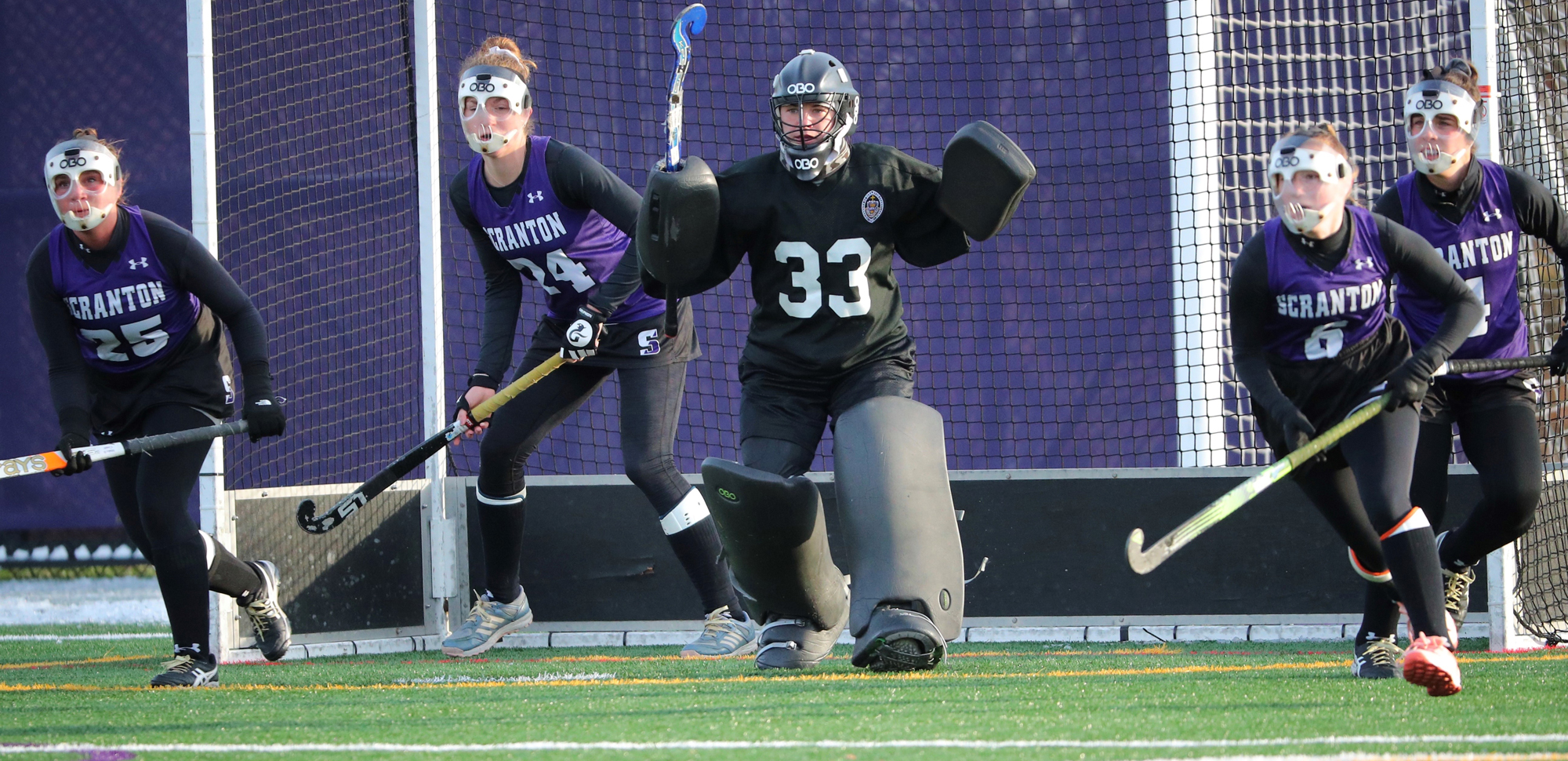 The University of Scranton field hockey team saw their historic season come to end in the first round of the NCAA Tournament on Wednesday afternoon.