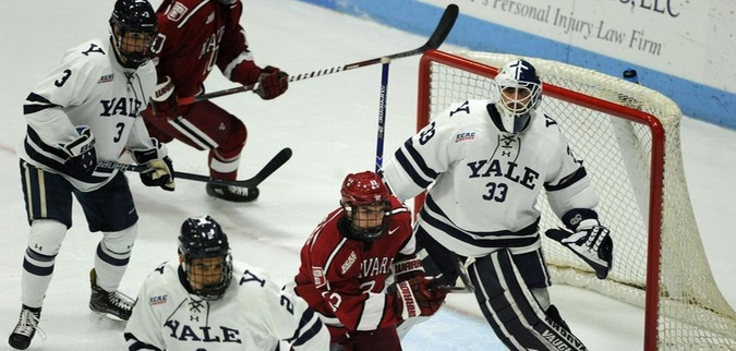 Yale ear OT tie against Harvard