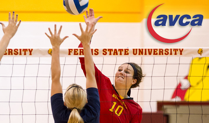 Ferris State Volleyball Ranked 13th Nationally In AVCA Preseason Poll