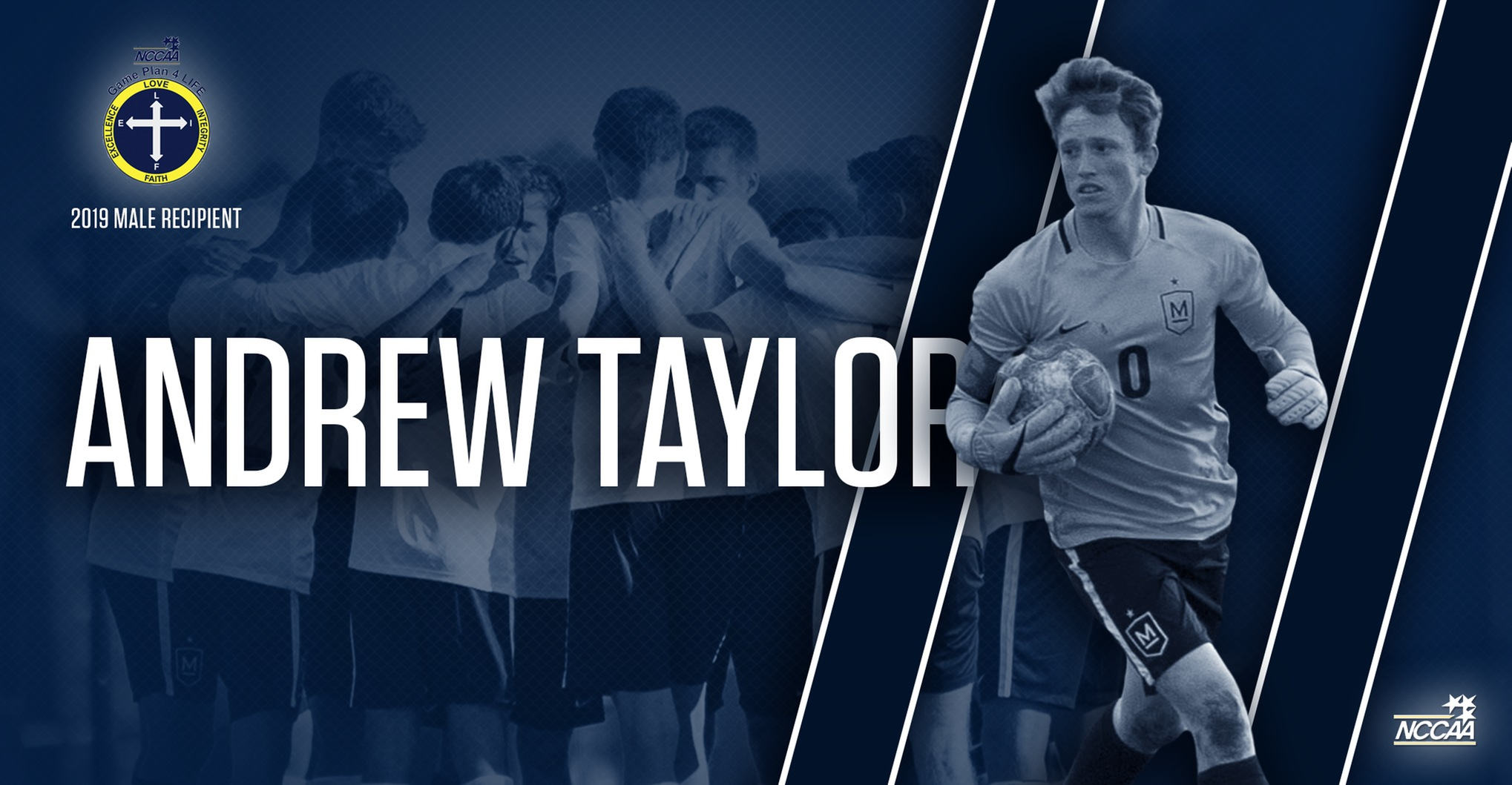 Taylor Receives NCCAA's Highest Honor