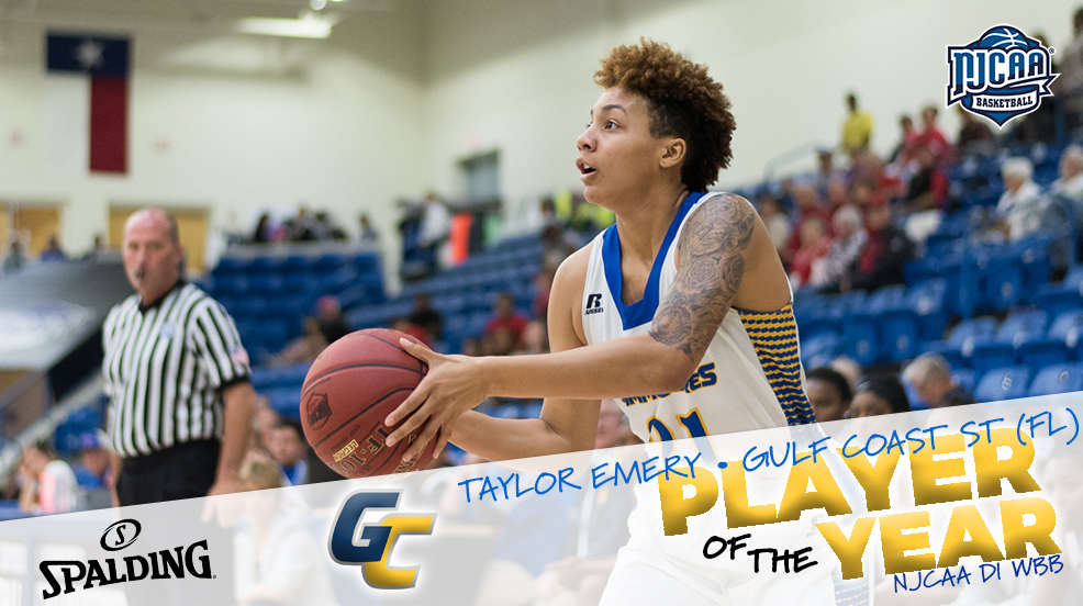 Gulf Coast State's Taylor Emery named DI WBB POTY