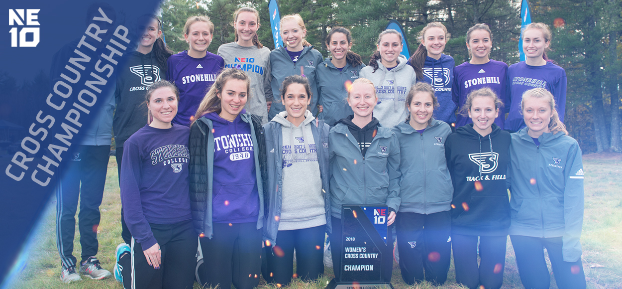 Embrace the Championship: Stonehill Women Win 17th NE10 Cross Country Title in Program History