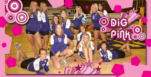 Dig Pink this Friday: Tech volleyball raises money for breast cancer research