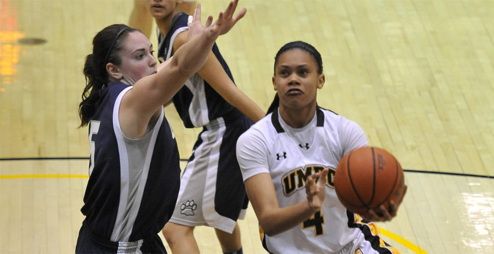 Late Run Downs Women's Basketball at UMass Lowell, 59-51