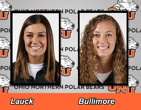 Lauck, Bullimore lead #10/14 Women's Basketball to 60-55 victory at Baldwin Wallace