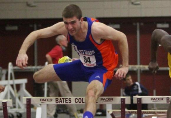 Scalesse Sets Mark in 400 Hurdles; Earns Pair of All-NE Honors