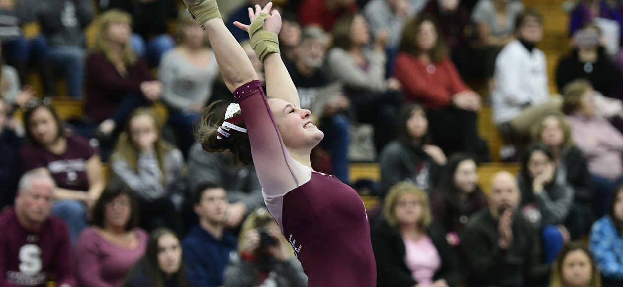 Women's Gymnastics Produces Season-Best Team Score of 186.500 in Home Opener