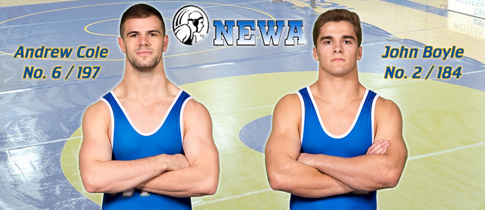 Boyle & Cole Earn Spots in Latest NEWA Individual Rankings
