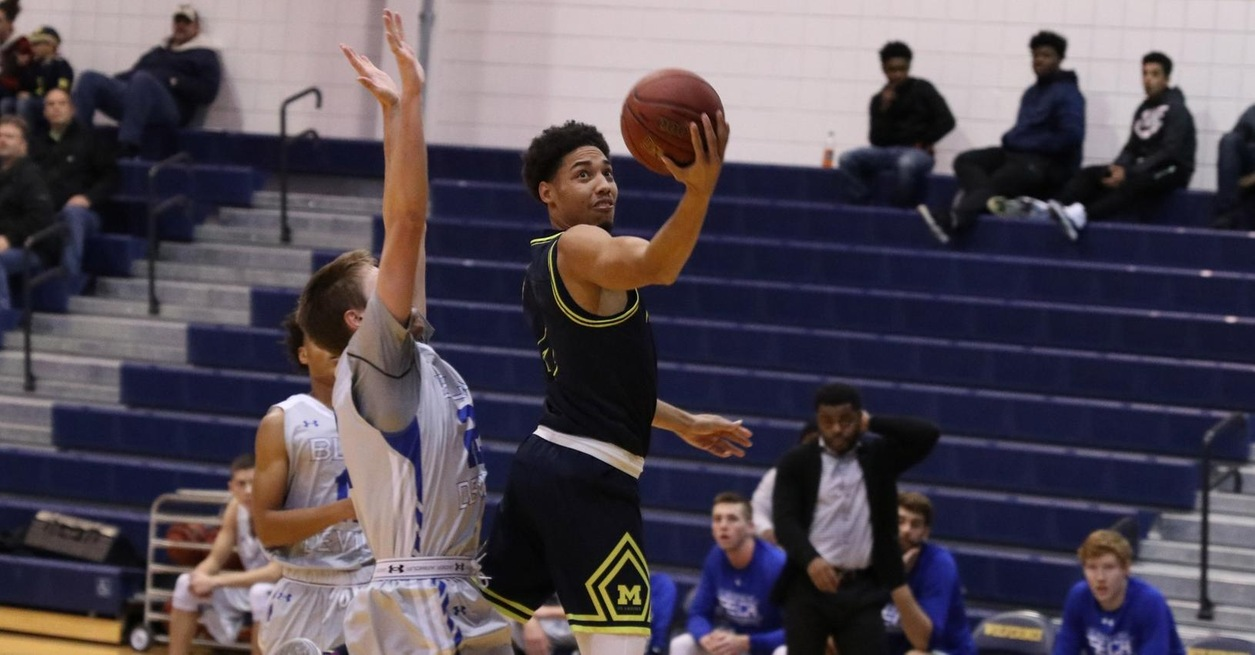 MEN'S BASKETBALL WINS THIRD STRAIGHT