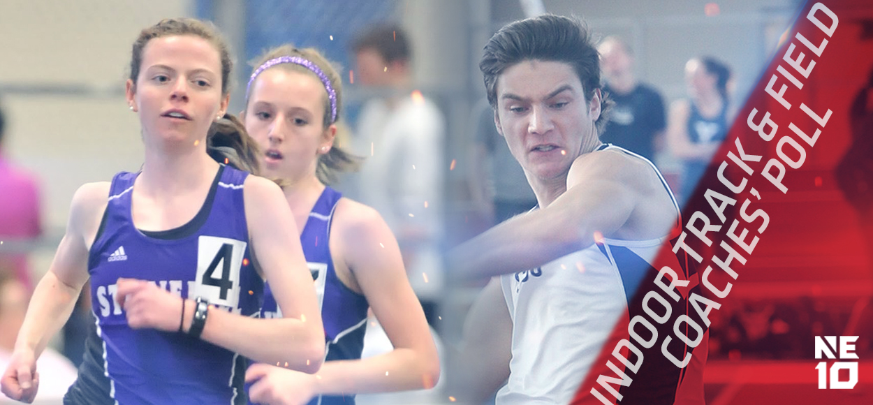 Embrace The Championship: Southern Connecticut Men, Stonehill Women Picked on Top as NE10 Gets Set for Indoor Track & Field Championships